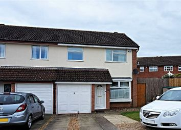 Thumbnail 3 bed semi-detached house for sale in Shelleycotes Road, Brixworth