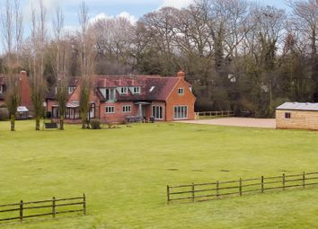 Thumbnail 5 bed equestrian property for sale in Weston Road, Aston Clinton, Aylesbury