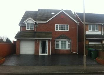 Thumbnail 5 bed detached house to rent in Bird End, West Bromwich