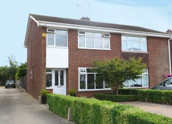 Thumbnail 3 bed semi-detached house for sale in Nicholson Road, Benfleet