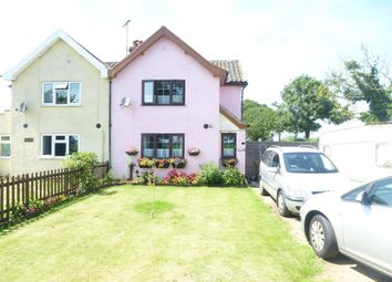 Thumbnail 3 bed semi-detached house for sale in Mautby Lane, Filby, Great Yarmouth