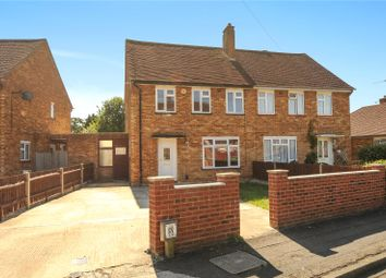 Thumbnail 3 bed semi-detached house for sale in Corwell Gardens, Uxbridge, Middlesex