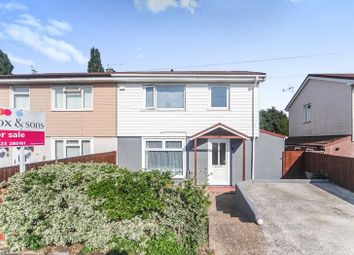 Thumbnail 3 bed semi-detached house for sale in Quantock Road, Taunton