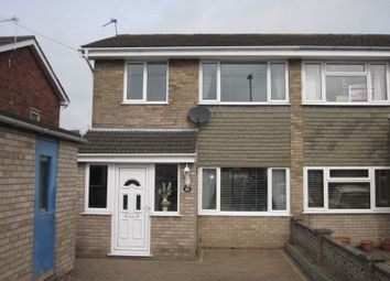 Thumbnail 3 bed semi-detached house to rent in Amhurst Gardens, Belton, Great Yarmouth