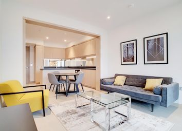 Thumbnail 2 bedroom flat to rent in Legacy Building, Embassy Gardens, Nine Elms