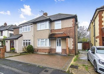 Thumbnail 3 bed semi-detached house for sale in Warren Drive, Elm Park, Hornchurch