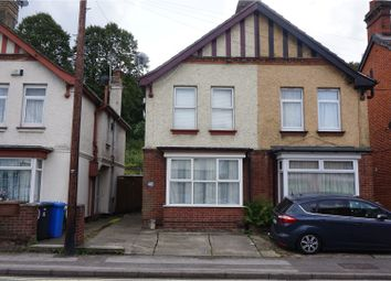 Thumbnail 3 bedroom semi-detached house for sale in Burrell Road, Ipswich