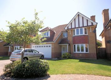 Thumbnail 4 bed detached house for sale in Wellington Drive, Lee-On-The-Solent