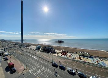 Thumbnail 3 bed flat to rent in Kings Road, Brighton