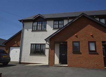 Thumbnail 3 bed semi-detached house for sale in Gwynfa, Blaenplwyf, Aberystwyth, Dyfed