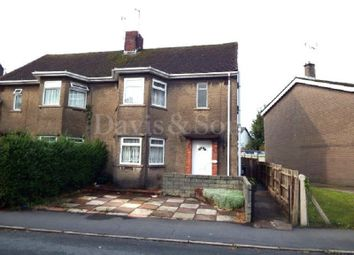 Thumbnail 3 bed semi-detached house for sale in Vine Cottage, Caerleon, Newport.