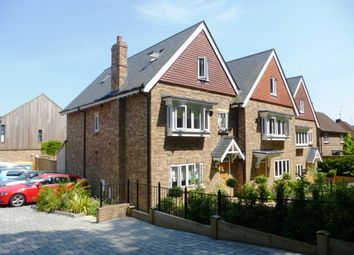 Thumbnail 4 bedroom town house for sale in Burnett Close, Winchester