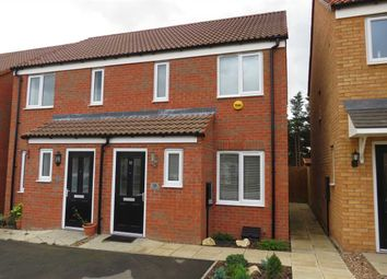 Thumbnail 2 bed semi-detached house for sale in Whittle Road, Holdingham, Sleaford