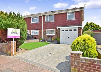 Thumbnail 3 bed semi-detached house for sale in Vernon Avenue, Woodingdean, Brighton, East Sussex