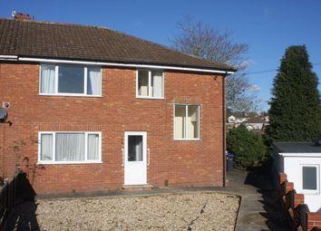 Thumbnail 2 bed flat to rent in Broadlands Close, Salisbury