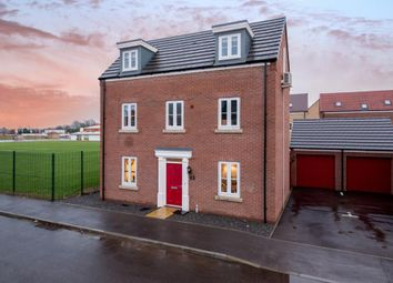 Thumbnail 3 bed detached house for sale in Tyne Close, Spalding