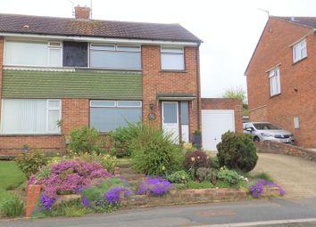 Thumbnail 3 bed semi-detached house for sale in Avonmead, Greenmeadow, Swindon