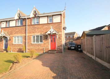 Thumbnail 3 bed semi-detached house to rent in Chatsworth Drive, Rossington, Doncaster