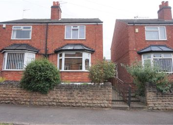 Thumbnail 2 bed semi-detached house for sale in Bannerman Road, Nottingham