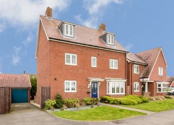 Thumbnail 5 bed detached house for sale in Bramble Walk, Kingsnorth, Ashford