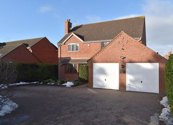 Thumbnail 4 bed detached house for sale in Droitwich Road, Fernhill Heath, Worcester