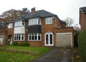 Thumbnail 3 bed semi-detached house for sale in Middleton Hall Road, Birmingham, West Midlands