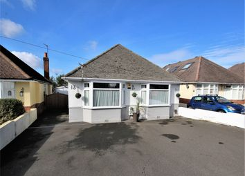 Thumbnail 3 bed detached bungalow for sale in Somerby Road, Oakdale, Poole, Dorset