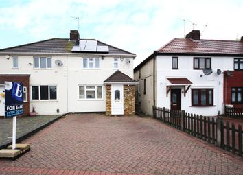 Thumbnail 3 bed semi-detached house for sale in Heaton Avenue, Harold Hill