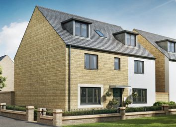 "Thumbnail 5 bed detached house for sale in ""The Newton"" at Cranford Road, Kettering"