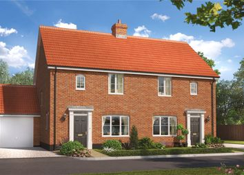 Thumbnail 3 bedroom end terrace house for sale in Birch Gate, Silfield Road, Wymondham, Norfolk