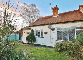 Thumbnail 2 bed bungalow for sale in Rowtown, Addlestone, Surrey
