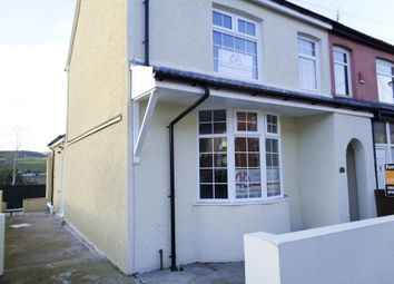 Thumbnail 4 bed semi-detached house for sale in Trebanog Road, Porth