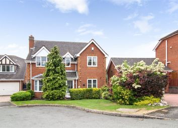 Thumbnail 4 bed detached house for sale in Grizedale Close, Burton-On-Trent, Staffordshire
