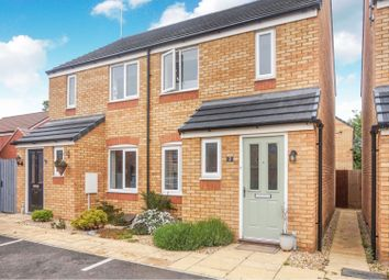 Thumbnail 2 bed semi-detached house for sale in Centenary Way, Wellingborough