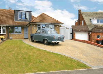 Thumbnail 4 bed semi-detached house for sale in Holmwood Close, Dunstable, Beds