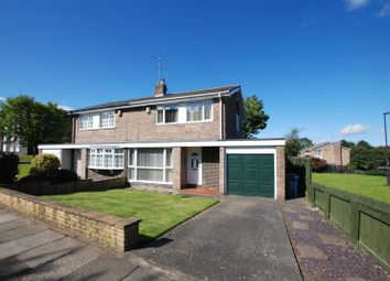 Thumbnail 3 bed semi-detached house for sale in St. Ives Way, Newcastle Upon Tyne