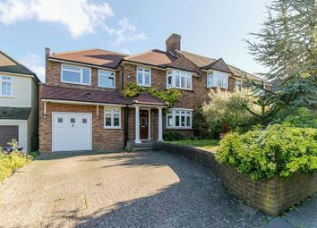 Thumbnail 4 bed semi-detached house for sale in Crossways, Croydon