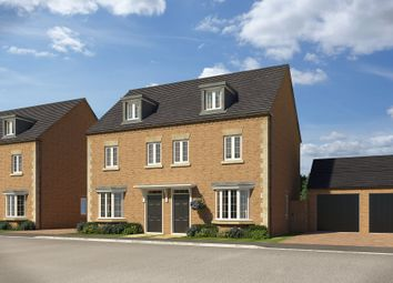 "Thumbnail 3 bedroom end terrace house for sale in ""Kennett"" at Popes Piece, Burford Road, Witney"