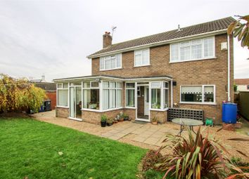 Thumbnail 4 bed detached house for sale in Gainsborough Road, Middle Rasen