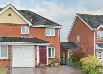 Thumbnail 3 bed semi-detached house for sale in Hackwood Close, Andover