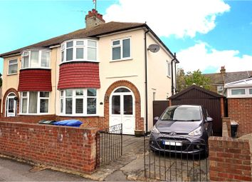 Thumbnail 3 bed semi-detached house for sale in St. Helens Road, Sheerness
