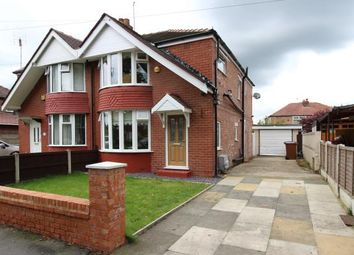 Thumbnail 3 bed semi-detached house for sale in Councillor Lane, Cheadle, Cheshire