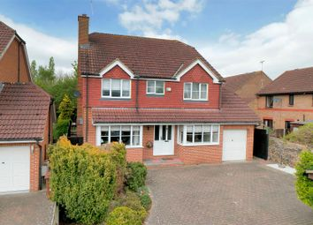 Thumbnail 4 bed detached house for sale in Carroll Close, Halling, Rochester