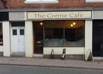 Thumbnail Retail premises for sale in Market Street, 3, Creme Cafe, Carlisle