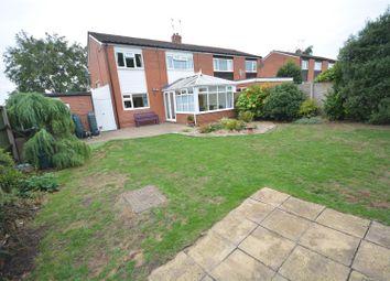 Thumbnail 3 bed semi-detached house for sale in Dunblane Road, Ruddington, Nottinghamshire