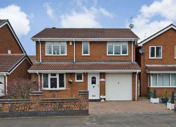 Thumbnail 4 bed detached house for sale in Thistledown Drive, Heath Hayes, Cannock