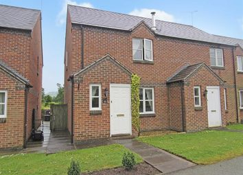 Thumbnail 2 bed semi-detached house to rent in Hafan Y Dorlan, Llanrhaeadr Ym Mochnant, Oswestry