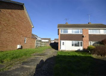 Thumbnail 3 bed semi-detached house for sale in Oakleigh Close, Raunds, Northamptonshire