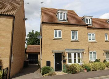 Thumbnail 4 bed semi-detached house for sale in Kingfisher Drive, Leighton Buzzard