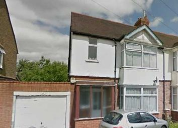 Thumbnail 3 bedroom semi-detached house to rent in Rutland Crescent, Luton